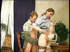 RUSSIAN MOM 3 hot mom with a young man