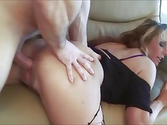 Slut MILF gets anal ride of her life