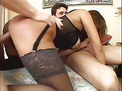Low Budget Latina Bitch Double Anal Ass Fucked! By: FTW88