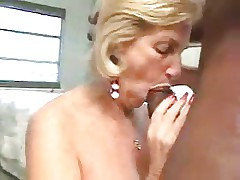 Granny loves big black dicks inside her