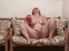 chubby mature shows her beautiful body