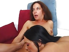 MOM AND TEEN 14 mature and young brunette