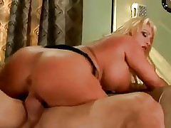 Hot Blonde Busty Cougar Milan Bangs Son's Friend