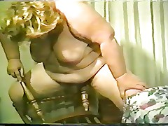 She's Playing With A Chair & BJ Facial (BBW)