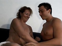 german mature and young boy