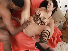 Butterface Mature Tattooed Interracial