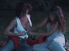 Mature Has Lesbian Sex In The Park