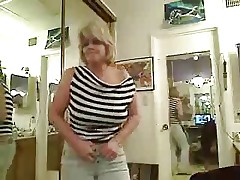 Mature Shows Her Tits Again